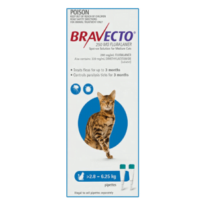 Bravecto Spot-On Cats Blue