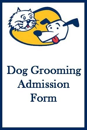 Dog Grooming Form