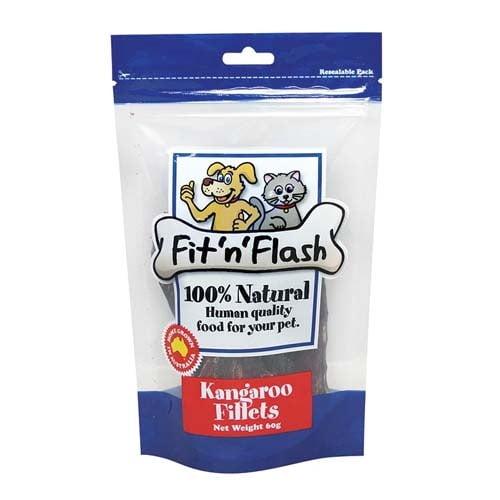 Fit'n'Flash Kangaroo Fillet Treats