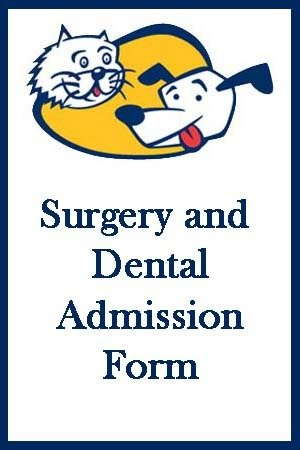Surgery Admission Form